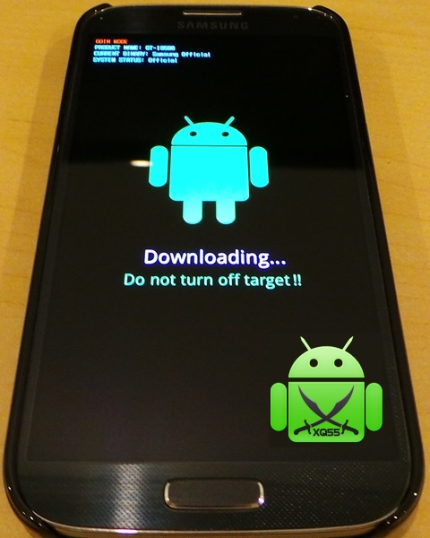 Galaxy S4 Downloading XQ55